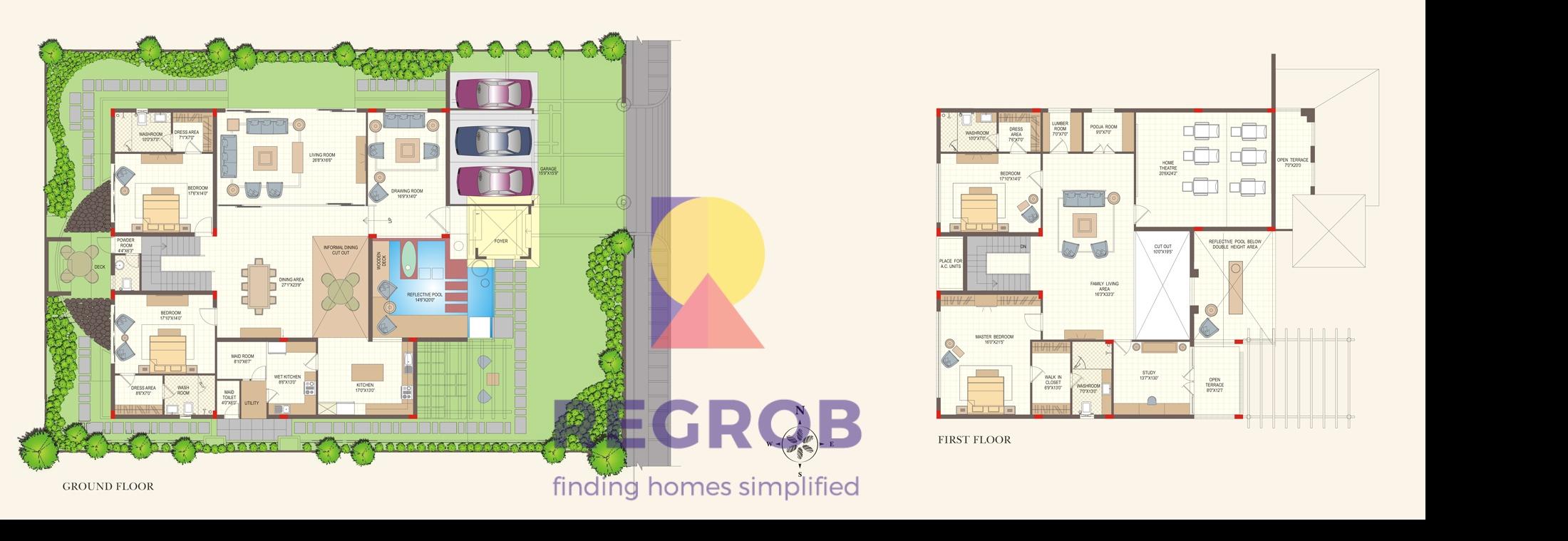 Aditya casa grande narsingi hyderabad price floor plan for 4 bhk plan layout