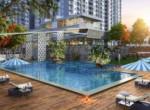 L&T Raintree Boulevard swimming pool