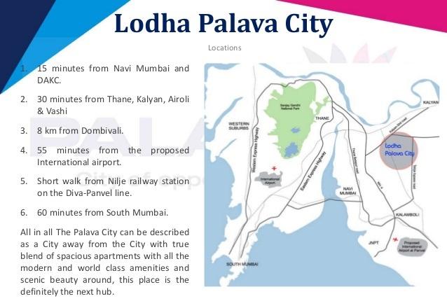 Lodha Palava City 1 2 And 3 Bhk Apartments In Dombivali Mumbai