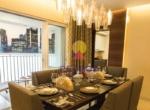 Lodha Meridian Dining Room
