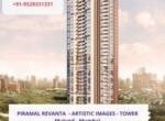 Piramal Revanta - residential project in mulund mumbai - artistic images - tower