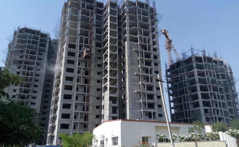 Lansum Etania Gachibowli Hyderabad construction work