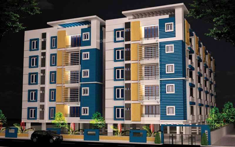 chaturbhuja homes Casa Rouge Ln, Shilpa Hills, Hyderabad