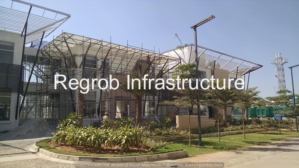 Mantri Euphoria Narsingi Hyderabad - construction view