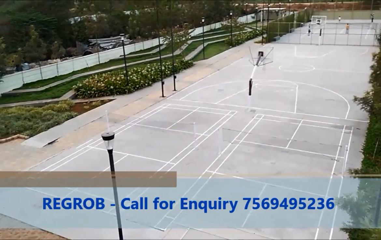 mantri celestia Play area basketball court