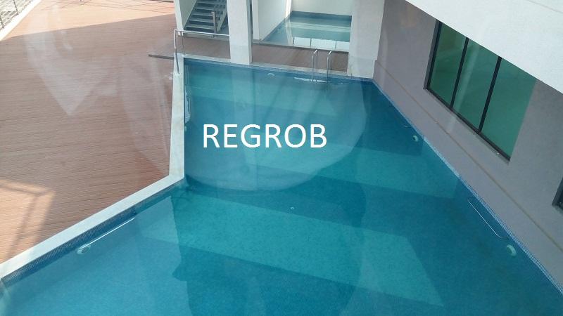 Ramky One Kosmos Gachibowli Hyderabad swimming pool