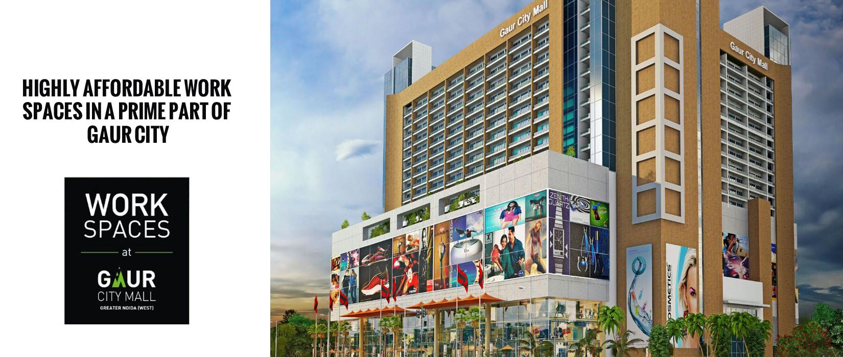 Gaur City Center In Noida Extension Price Location