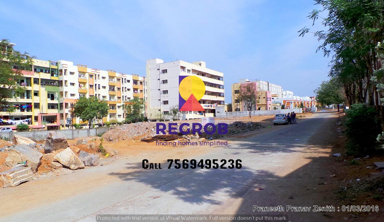 Praneeth Pranav Zenith construction going on 1
