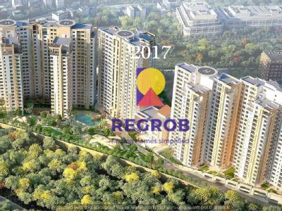 The Botanika Luxury Project Gachibowli Hyderabad - aerial view