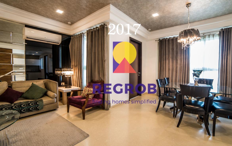 The Botanika Luxury Project Gachibowli Hyderabad - dining room