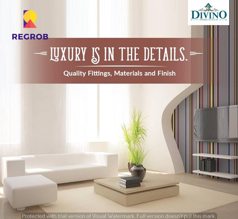 Incor Divino Villas Tellapur Hyderabad - living rooml