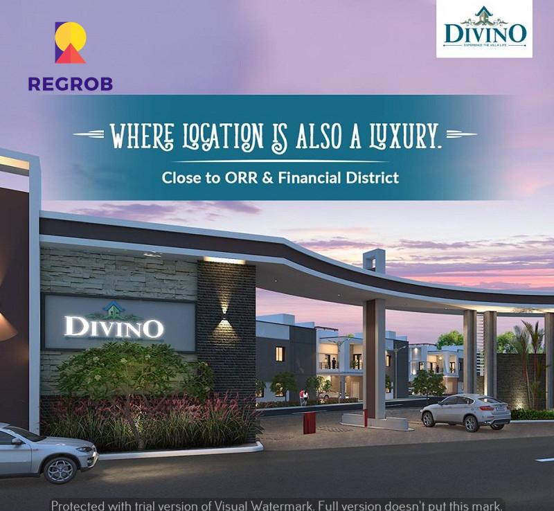 Divino Villas Tellapur Hyderabad   Price, Images, Video