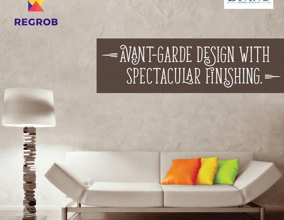 Incor Divino Villas Tellapur Hyderabad - living room