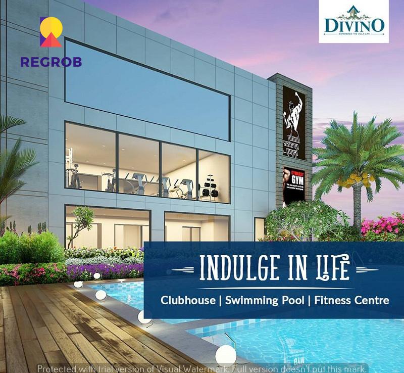 Incor Divino Villas Tellapur Hyderabad - villa and swimming pool