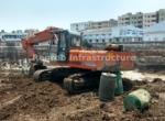 Vertex Siris Signa Benz Circle Vijayawada construction site