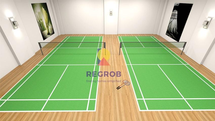 DSR Fortune Prime Madhapur Hyderabad Badminton