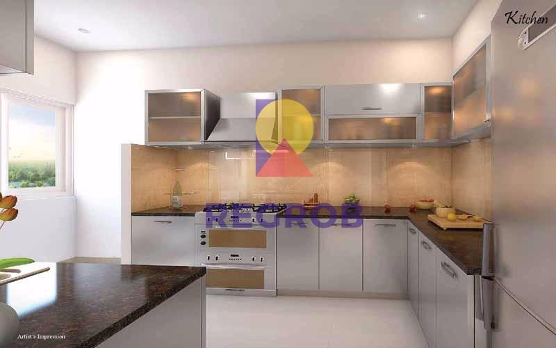 Salarpuria Sattva Opus Kitchen