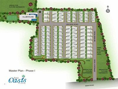 Geown Oasis Layout Plan