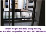 Serene Heights Yendada Visakhapatnam Balcony