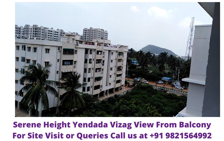 Serene Heights Yendada Visakhapatnam View From Balcony