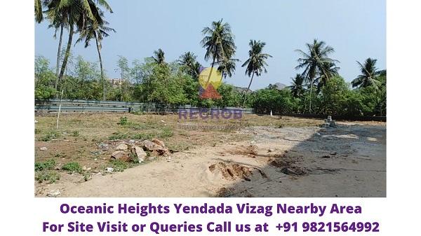Oceanic Heights Yendada Vizag Nearby Area