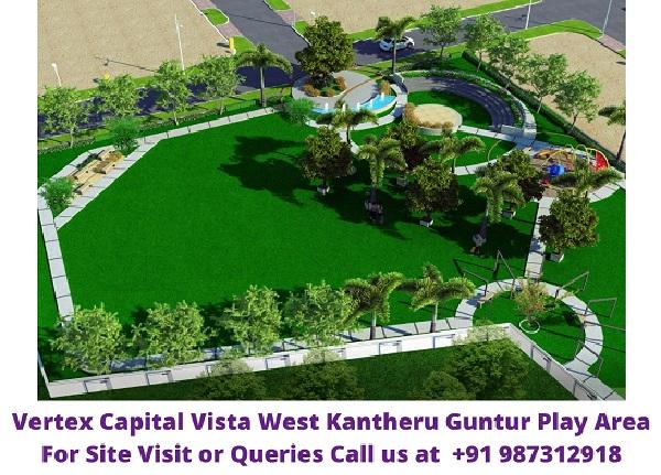 Vertex Capital Vista West Kantheru Guntur Play Area