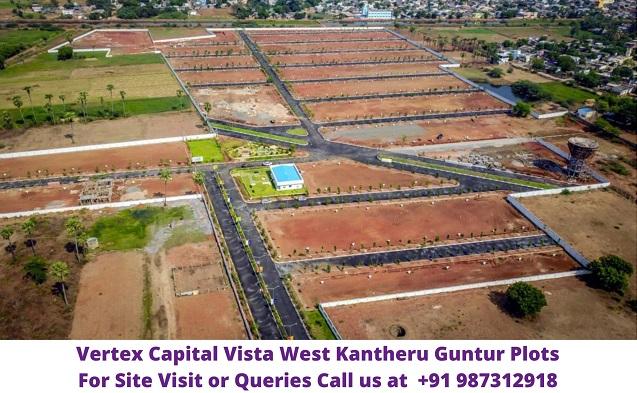 Vertex Capital Vista West Kantheru Guntur Plots For Sale