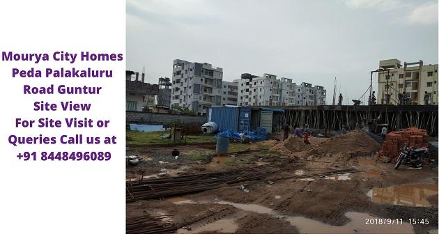 Mourya City Homes Peda Palakaluru Road Guntur