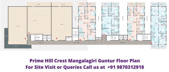 Prime Hill Crest Mangalagiri Guntur Andhra Pradesh Floor Plan