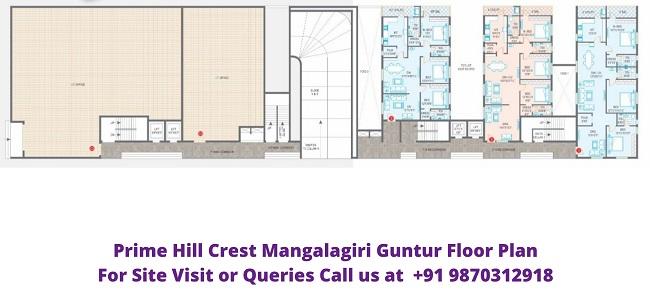 Prime Hill Crest Mangalagiri Guntur Floor Plan