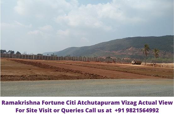 RamaKrishna Fortune Citi Atchutapuram Vizag Actual Image