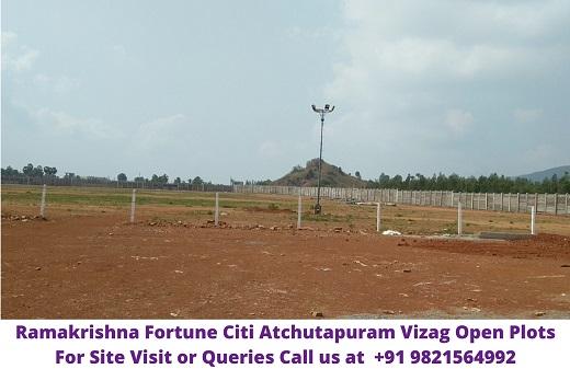 RamaKrishna Fortune Citi Atchutapuram Vizag Open Plots
