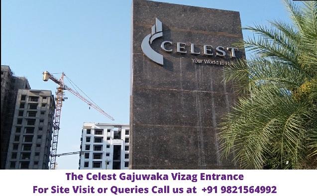 The Celest Gajuwaka Vizag Entrance