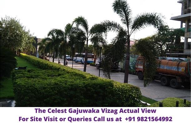 The Celest Gajuwaka Vizag Lush Greenery