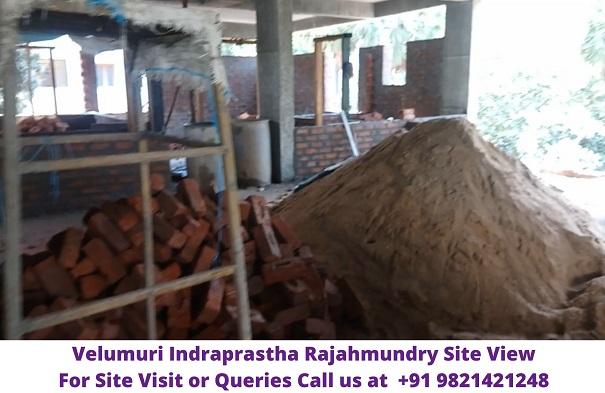 Velumuri Indraprastha Rajahmundry Constructing Site