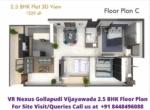 VR Nexus Gollapudi Vijayawada 2.5 bhk Floor Plan