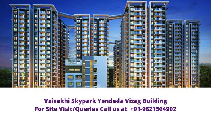 Vaisakhi Skypark Yendada Vizag Building