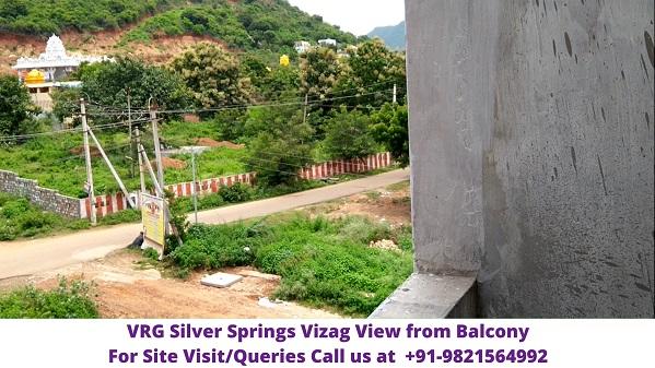 Silver Springs China Mushidiwada Vizag Balcony View