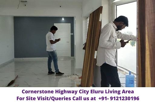 CornerStone Highway City Eluru Living Area