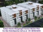 Aadya Classic Mangalagiri Guntur Master Plan