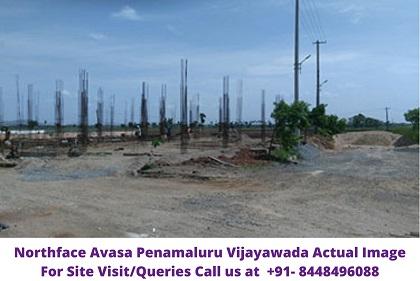 Northaface Avasa Penamaluru Vijayawada Actual Image