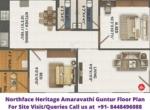 Northface Heritage Amaravathi Guntur 2bhk Floor Plan