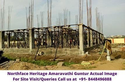 Northface Heritage Amaravathi Guntur Actual Image