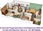 Utkarsha Emerald Visakhapatnam, Thagarapuvalasa 4BHK Floor Plan